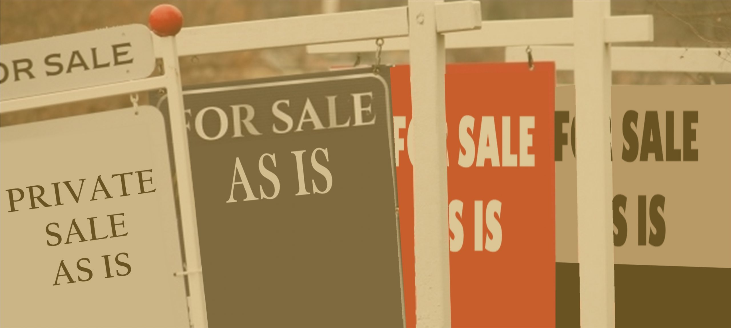 As Is Property Sale – what it means and doesn't