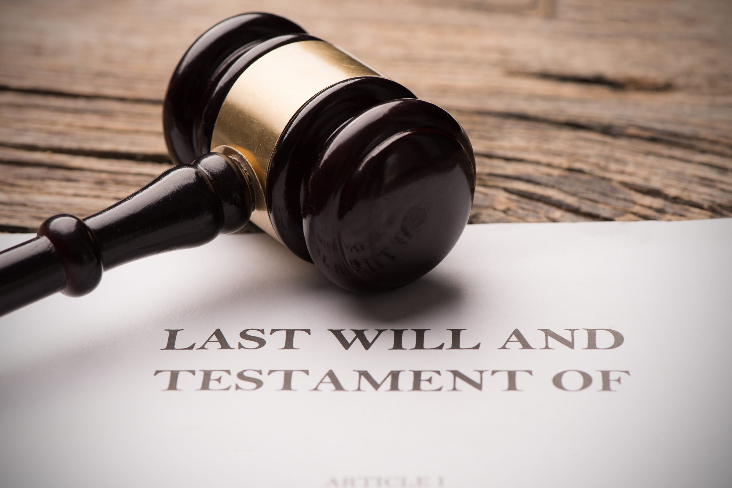 What happens when you die without a will?
